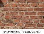 red brick wall texture | Shutterstock . vector #1138778780