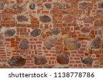 red brick wall texture | Shutterstock . vector #1138778786