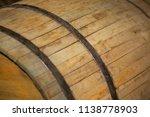 wooden barrel in the basement | Shutterstock . vector #1138778903