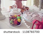 treats at a party | Shutterstock . vector #1138783700