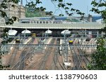 edinburgh waverly station | Shutterstock . vector #1138790603