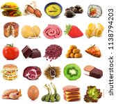 vegetables and fruits | Shutterstock . vector #1138794203