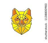lynx logo design | Shutterstock .eps vector #1138800983