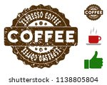 espresso coffee quality... | Shutterstock .eps vector #1138805804