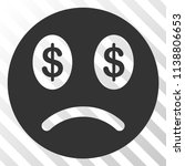 sad business smiley vector... | Shutterstock .eps vector #1138806653