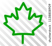 maple leaf vector pictograph.... | Shutterstock .eps vector #1138808909