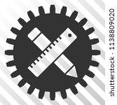 industrial design tools vector... | Shutterstock .eps vector #1138809020