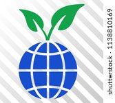 global sprout vector pictograph.... | Shutterstock .eps vector #1138810169