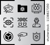simple icon set of medical... | Shutterstock .eps vector #1138827350