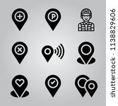 simple icon set of avatar... | Shutterstock .eps vector #1138829606
