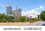 Francia Square (also known as Altamira Square), in Caracas, capital city of Venezuela