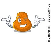 wink hard shell character...   Shutterstock .eps vector #1138839428
