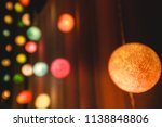 abstract blurred bokeh of... | Shutterstock . vector #1138848806