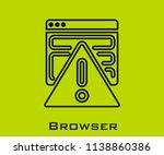 browser icon signs