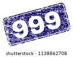 999 stamp seal print with... | Shutterstock .eps vector #1138862708