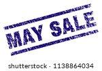 may sale stamp seal watermark... | Shutterstock .eps vector #1138864034