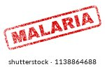 malaria stamp seal print with... | Shutterstock .eps vector #1138864688