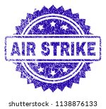 air strike stamp imprint with... | Shutterstock .eps vector #1138876133