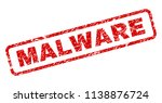 malware stamp seal print with... | Shutterstock .eps vector #1138876724