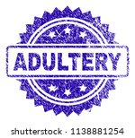 adultery stamp imprint with... | Shutterstock .eps vector #1138881254