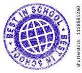 best in school stamp imprint... | Shutterstock .eps vector #1138881260