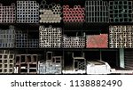 stock warehouse many kind of... | Shutterstock . vector #1138882490