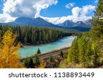 morant's curve  bow valley... | Shutterstock . vector #1138893449