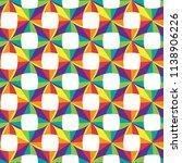 geometric seamless pattern of... | Shutterstock . vector #1138906226