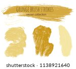 paint lines grunge collection....   Shutterstock .eps vector #1138921640