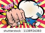fist punching.hitting crushing...   Shutterstock .eps vector #1138926383