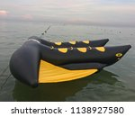 water inflatable boats rides on ... | Shutterstock . vector #1138927580