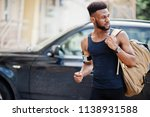 african american male athlete... | Shutterstock . vector #1138931588