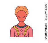 indigenous icon. cartoon...   Shutterstock .eps vector #1138941329