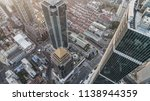 aerial view of business area... | Shutterstock . vector #1138944359