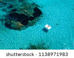 aerial view of two people... | Shutterstock . vector #1138971983