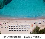 aerial view of an emerald and...   Shutterstock . vector #1138974560