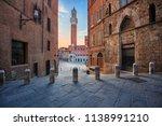 siena. cityscape image of siena ... | Shutterstock . vector #1138991210