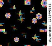 abstract modern composition.... | Shutterstock .eps vector #1138995566