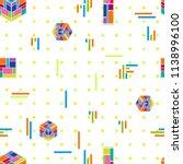 abstract modern composition.... | Shutterstock .eps vector #1138996100