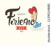 hand lettering text  happy...   Shutterstock .eps vector #1139014880