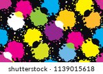 color abstract design pattern... | Shutterstock .eps vector #1139015618