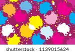 color abstract design pattern... | Shutterstock .eps vector #1139015624