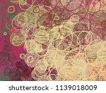 contemporary art. hand made art....   Shutterstock . vector #1139018009