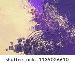 contemporary art. hand made art.... | Shutterstock . vector #1139026610