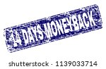 14 days moneyback stamp seal... | Shutterstock .eps vector #1139033714