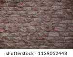 stone wall texture background. | Shutterstock . vector #1139052443