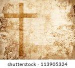 christianity representation... | Shutterstock . vector #113905324
