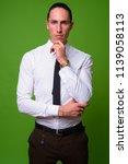 young handsome businessman...   Shutterstock . vector #1139058113