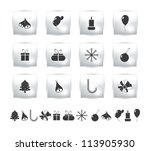 vector set icons birthday and...