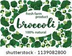 vector illustration of broccoli ... | Shutterstock .eps vector #1139082800
